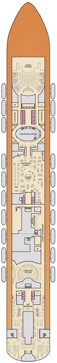 Deck 4 - Mezzanine